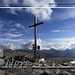 Puigmal with the beautiful summit cross <br />Puigmal und sein schönes Gipfelkreuz<br />Puigmal y su hermosa cruz de cumbre