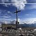 Puigmal with the beautiful summit cross <br />Puigmal und sein schönes Gipfelkreuz<br />Puigmal y su hermosa cruz de cumbre