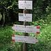 ab hier beginnt der Abstieg nach Bassura di Stroppo ...