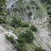 der Aufstiegsweg ist erosionsgefährdet