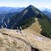 Blick von Westen über den Grat der Blauberge zur Halserspitz  Bild von wikipedia