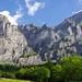 Durch diese Felswand hinauf führt der Wägeli-Trail