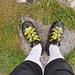 Goretex-Schuhe, heute ein Muss.