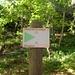 Die Rotkehlchenstiege ist als Bergpfad ausgewiesen