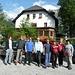 Gruppenbild beim Alpengasthof Bodenbauer