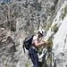 in Klettersteig Voie 2 (K3)