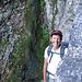 """Lisbeth in der """"Leitern-Passage"""""""