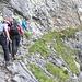 der interessante Aufstieg zur Glecksteinhütte