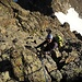 einfache Kletterei am Dossen