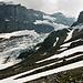 Blick auf den unteren Eisbruch des Bifertenfirns.