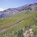 Nach dem queren von etwa 30ig Runsen führt der Weg auf die Furggialp