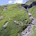 Der Abstieg von Furggialp ist zT recht steil...