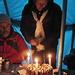 ein Kuchen, gebacken von den Sherpas