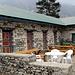 nochmal: unsere Lodge in Tengboche, links die Zimmer