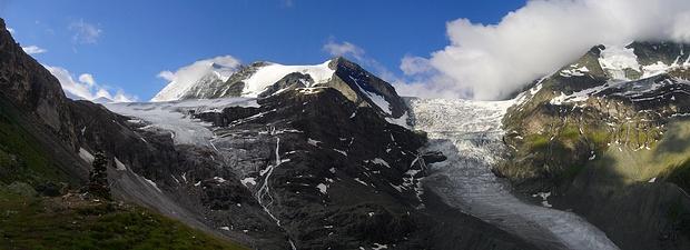 Panorama von Turtmannhütte