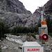 """Der Abfluss des Gletschers macht ab und zu """"lämpe""""... Hochwasser"""