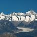 Aletschgletscher, Grosses Wannenhorn & Finsteraarhorn