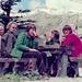 1976 Beginn unserer 3-Generationen-Ferien (Schwiegereltern, [u koralle], Jürg und meine Gattin) beim Barrage de Tseuzier