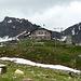 Die Pizzinihütte liegt in aussichtsreicher Lage nach Norden