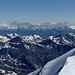 Im Nordosten bilden die Ötztaler Alpen die Horizontlinie.