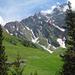 Route ab Alp Mittler Stafel über Leidrus-Under Schibenjoch-Gross Schiben-Chli Schiben-Schibenrus.