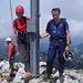Hans und ich ([u mali]) am Gipfel des Gimpel.