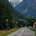 Nach Trümmelbach ist der Schmadribachfall zu hinderst im Tal schon gut zu sehen