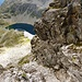 Bocchetta della Crosa - Blick zum obersten Antabia-See