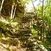 Der Weg zur Solögna - Treppen um Treppen