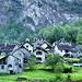 Rosed (Val Bavona) am Morgen