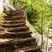 Treppe und Brücklein unterhalb Alpe Costa
