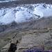 Elegante Tiefblicke auf den Gornergletscher