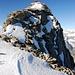 Gipfelaufbau Diechterhorn 3389m