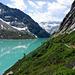 Impressionen vom Bergweg entlang dem Gelmersee.