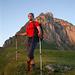 """Hauptdarsteller einer grossen Tour im Morgenlicht - seines Zeichens: """"Alpin on the Rise"""""""