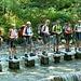 Il gruppo sul fiume