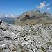 Gipfel 2691m zum nördlichen Gipfel führt ein exponierter Grat