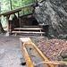 Rastplatz mit genügend Holz... der Grill steht auch...