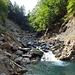 Weiter unten... knapp oberhalb der Mündung des Arnibachs