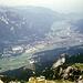 Grandioser Tiefblick nach Garmisch.