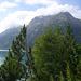Start am Schleigeisstausee - hier mit Blick auf das wolkenverhüllte Hochstellermassiv