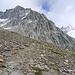 die beeindruckenden Felsabbrüche der Furtschaglspitze (westalpines Flair?)