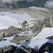 unten am Felsköpfl ist der Einstieg in den etwa 350 Meter hohen Felsriegel