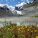 farbenfrohe ehemalige Gletscherzone