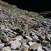 Unendlich zieht der Weg durch die Steilflanke aus dem Uiserst Tal zum Üsser Talgletscher hoch...