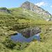 ein kleiner See macht den Margelchopf zum Doppelchopf