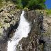 Wasserfall unterhalb der Schöpfe