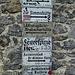 kuriose Schilder an der Simmshütte