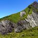 Der Mutzenbach setzt dem Berg immer mehr zu