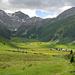 Talschluss von Sertig mit der Plattenflue und dem Hoch Ducan - was für ein toller Berg!